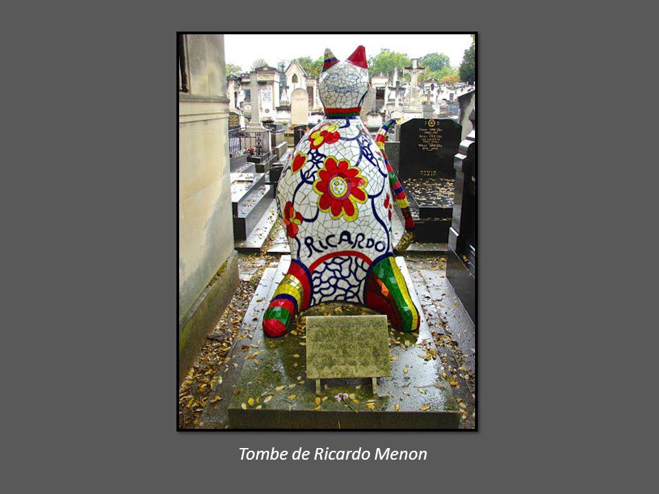 Tombe de Ricardo Menon