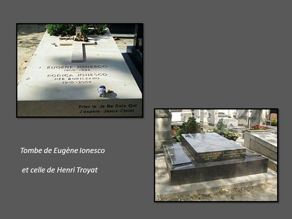 Tombe de Eugène Ionesco