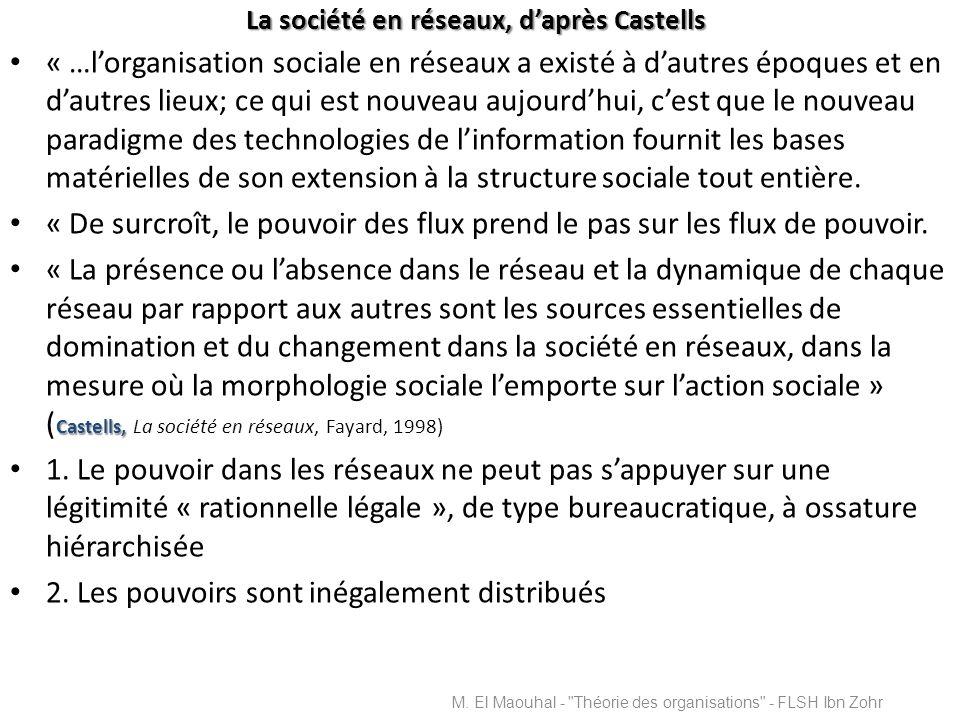La société en réseaux, d'après Castells