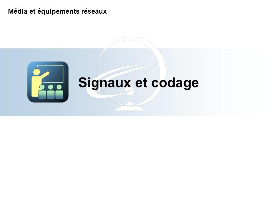 Signaux et codage Média et équipements réseaux 2-Apr-17
