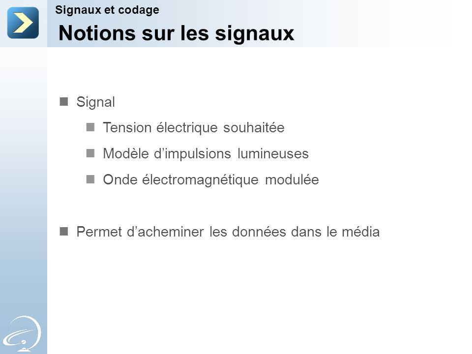 Notions sur les signaux