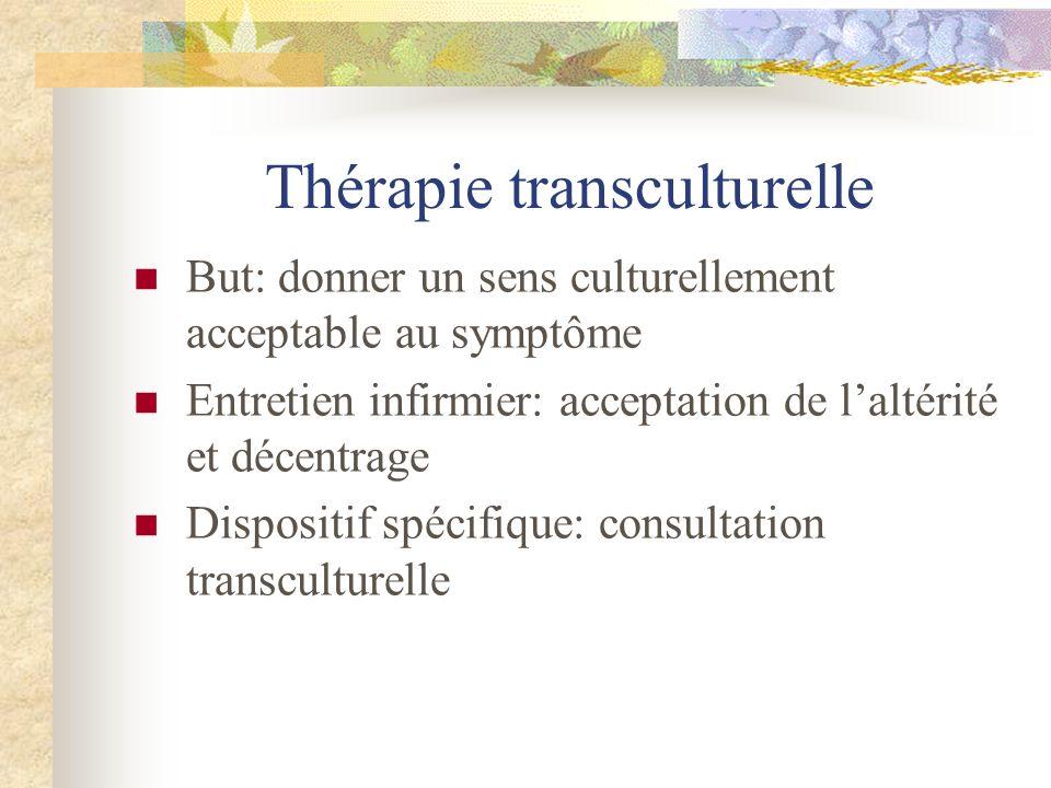 Thérapie transculturelle