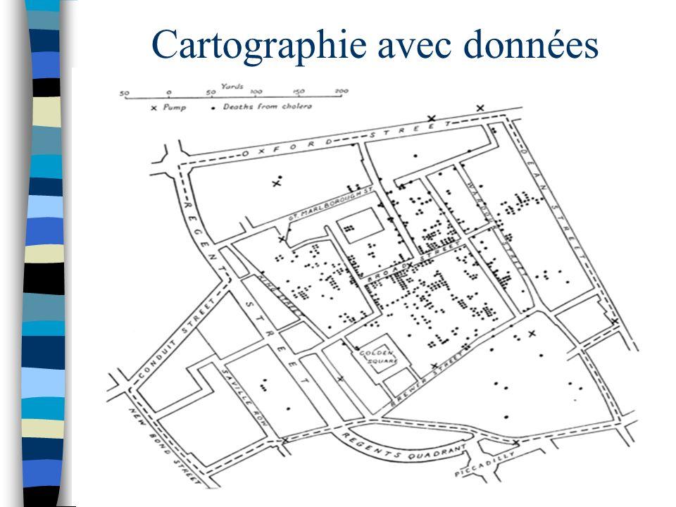Cartographie avec données