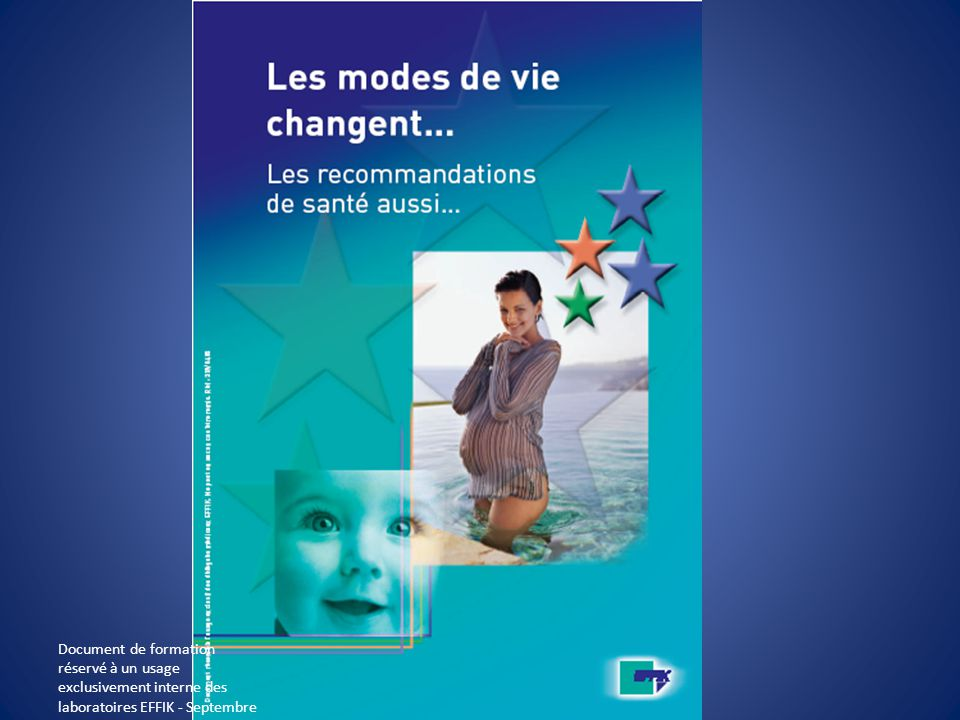 Document de formation réservé à un usage exclusivement interne des laboratoires EFFIK - Septembre 2008