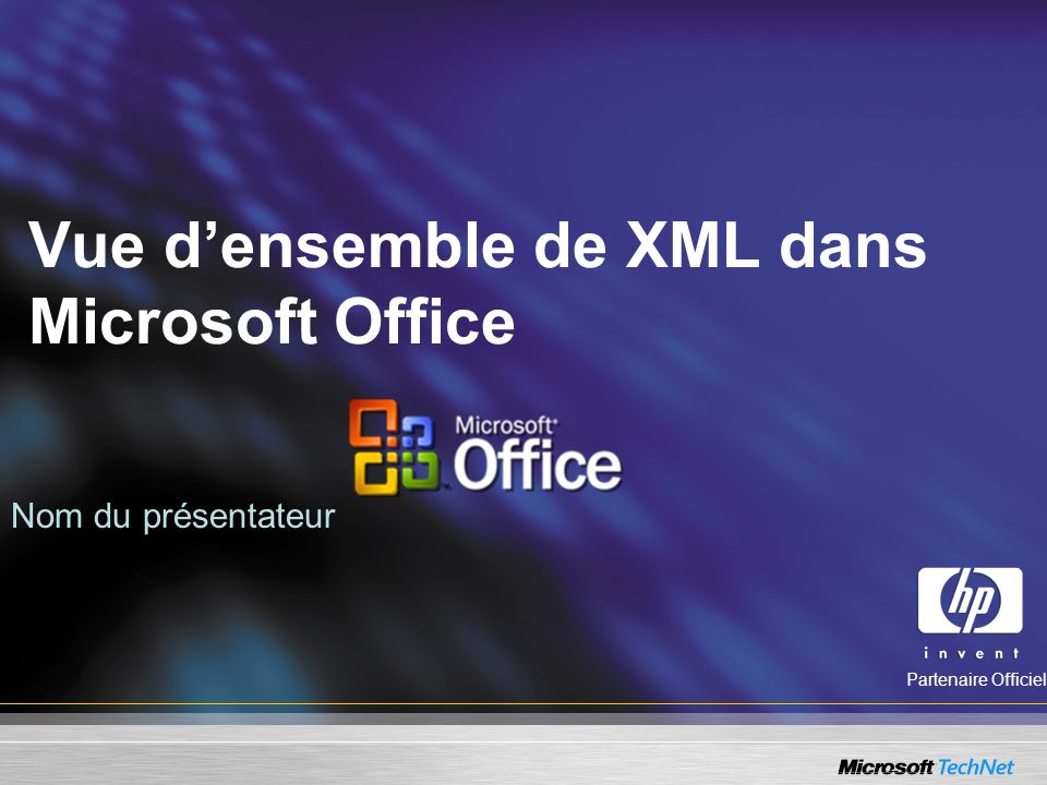Vue d'ensemble de XML dans Microsoft Office