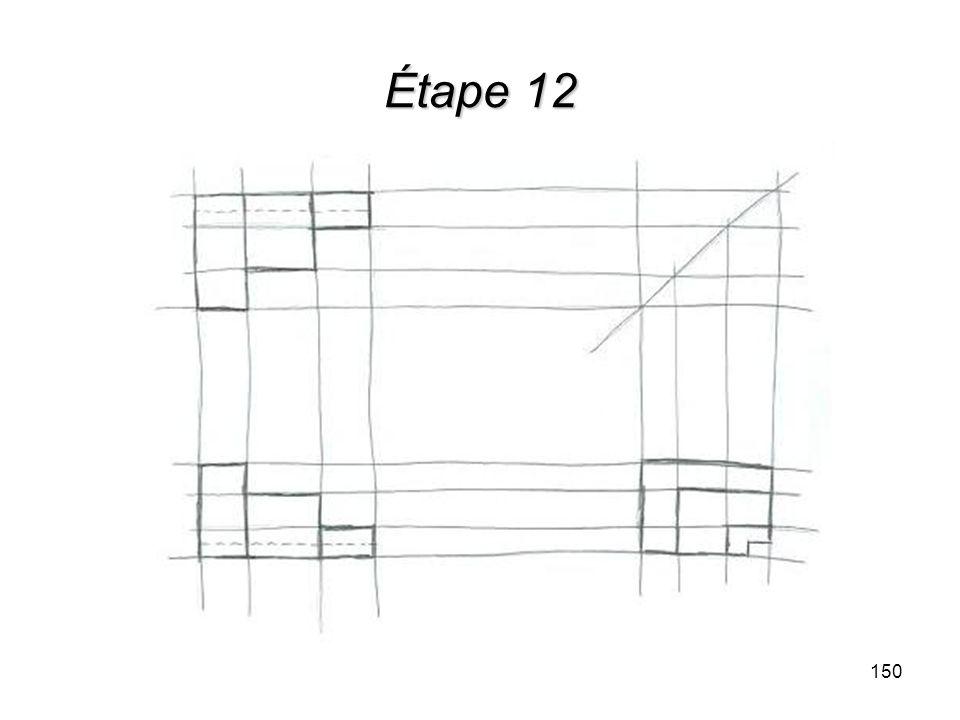 Étape 12