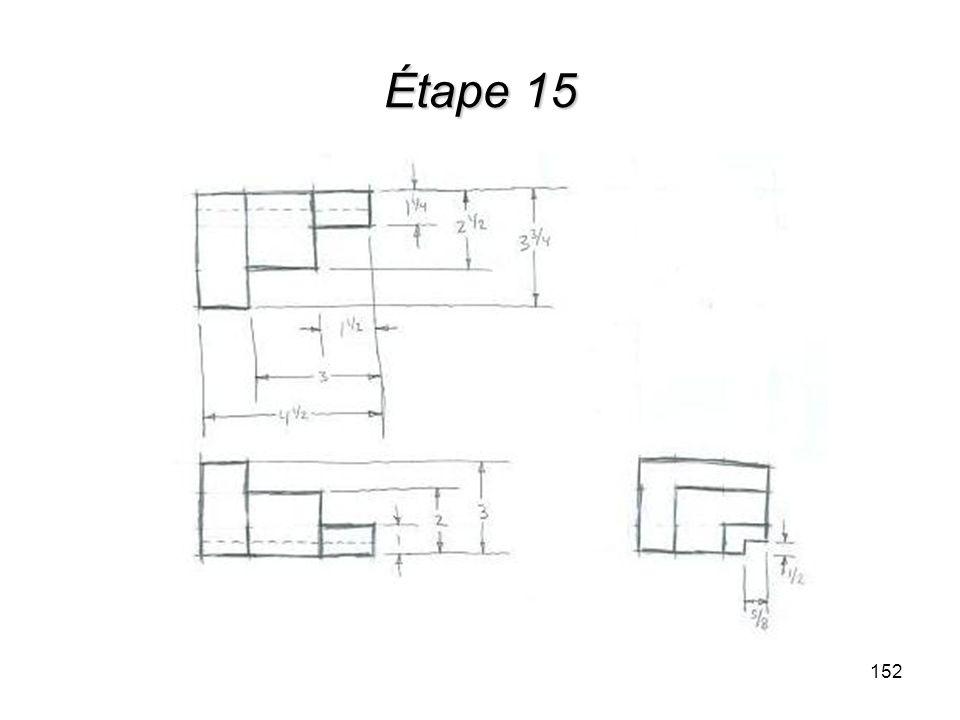 Étape 15