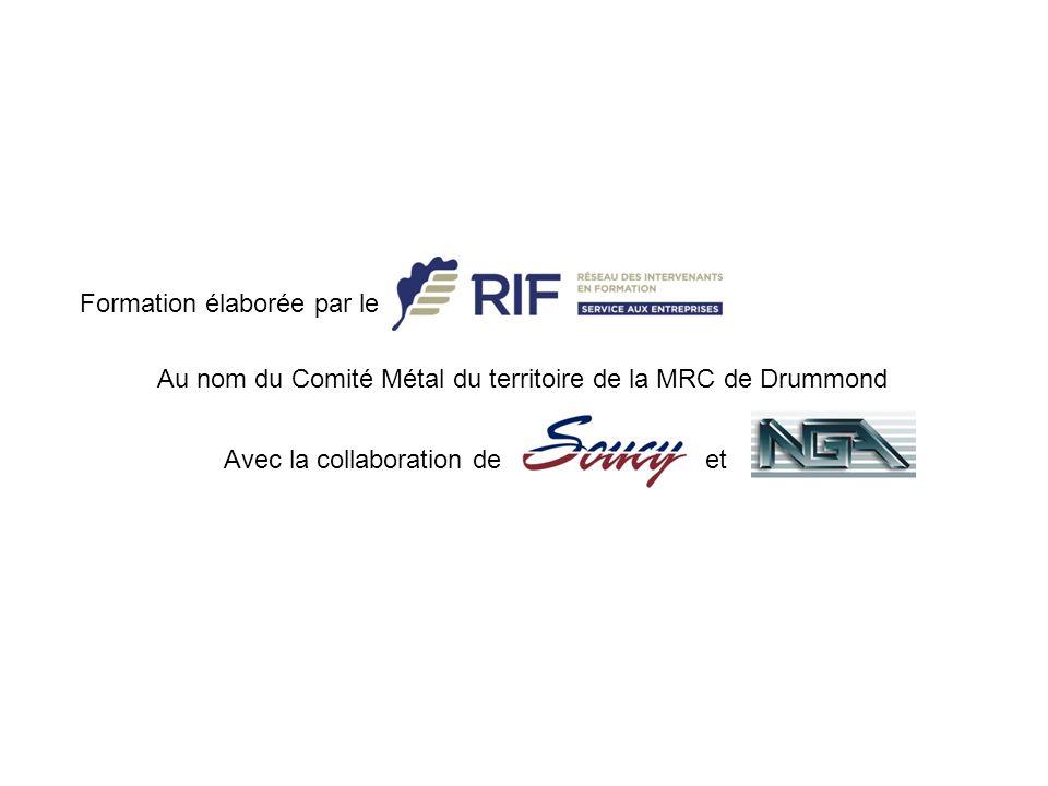 Au nom du Comité Métal du territoire de la MRC de Drummond