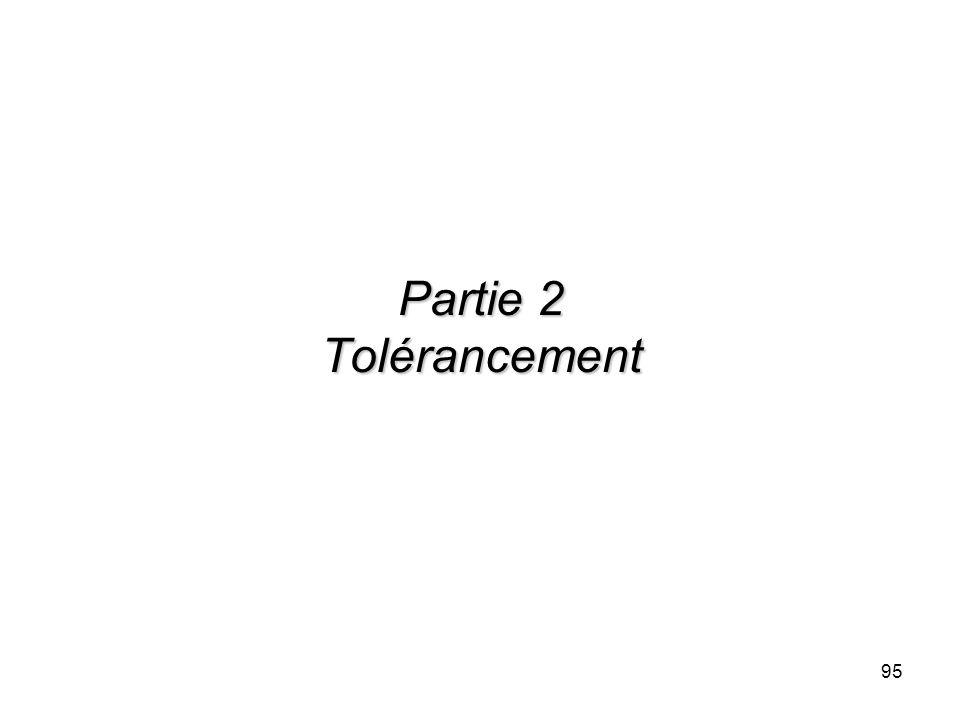 Partie 2 Tolérancement
