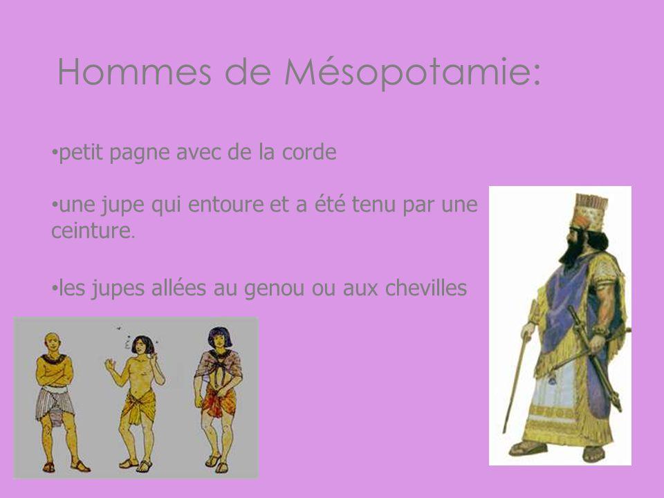 Hommes de Mésopotamie: