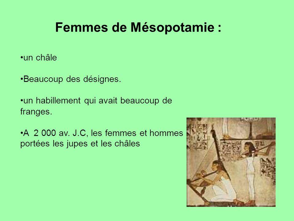 Femmes de Mésopotamie :
