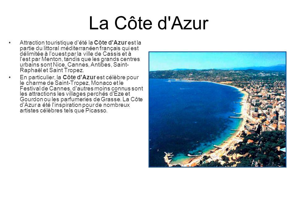 La Côte d Azur