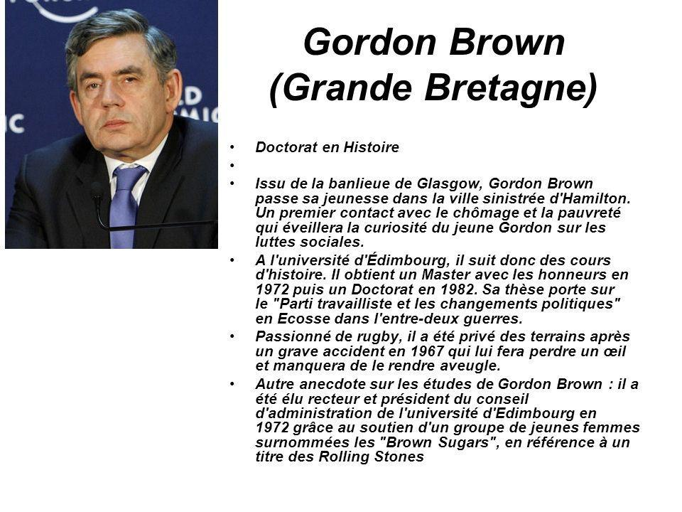 Gordon Brown (Grande Bretagne)