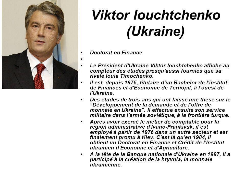 Viktor Iouchtchenko (Ukraine)