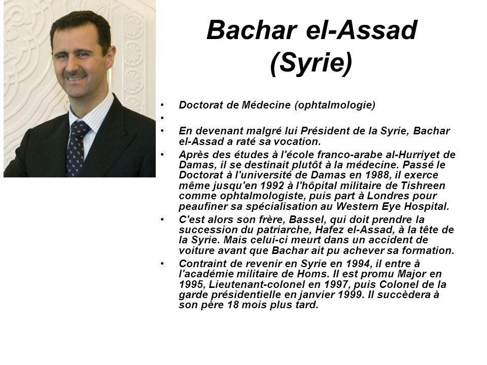 Bachar el-Assad (Syrie)