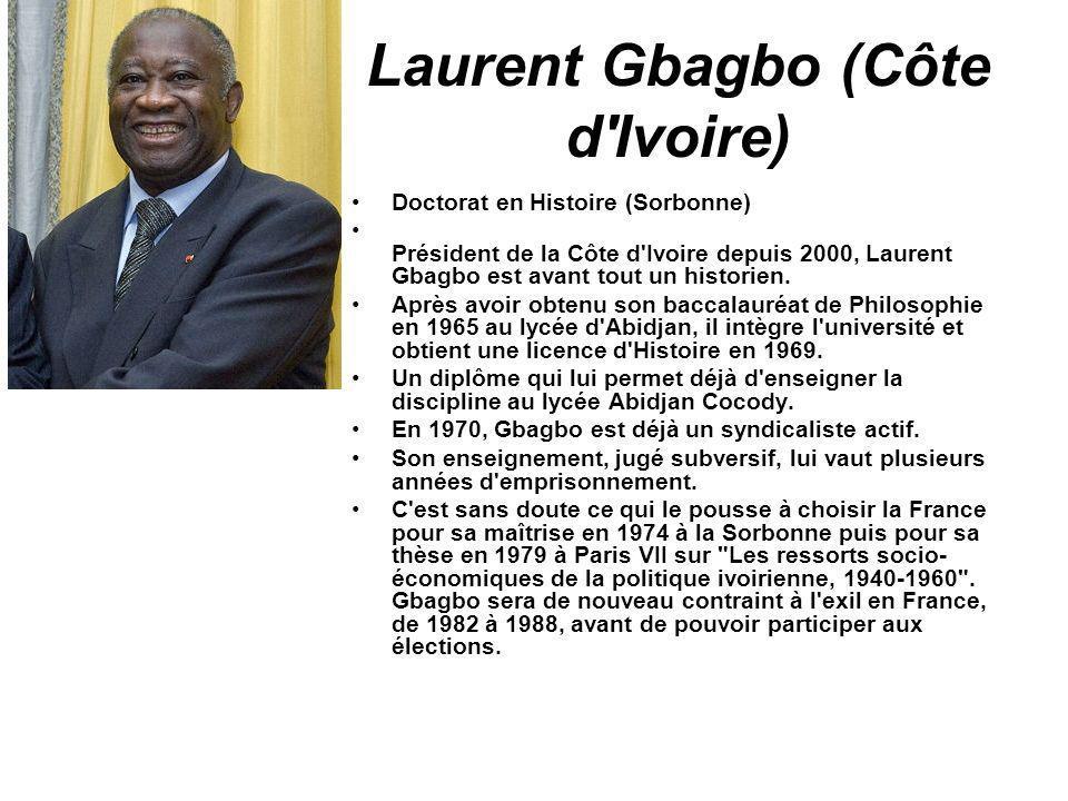 Laurent Gbagbo (Côte d Ivoire)