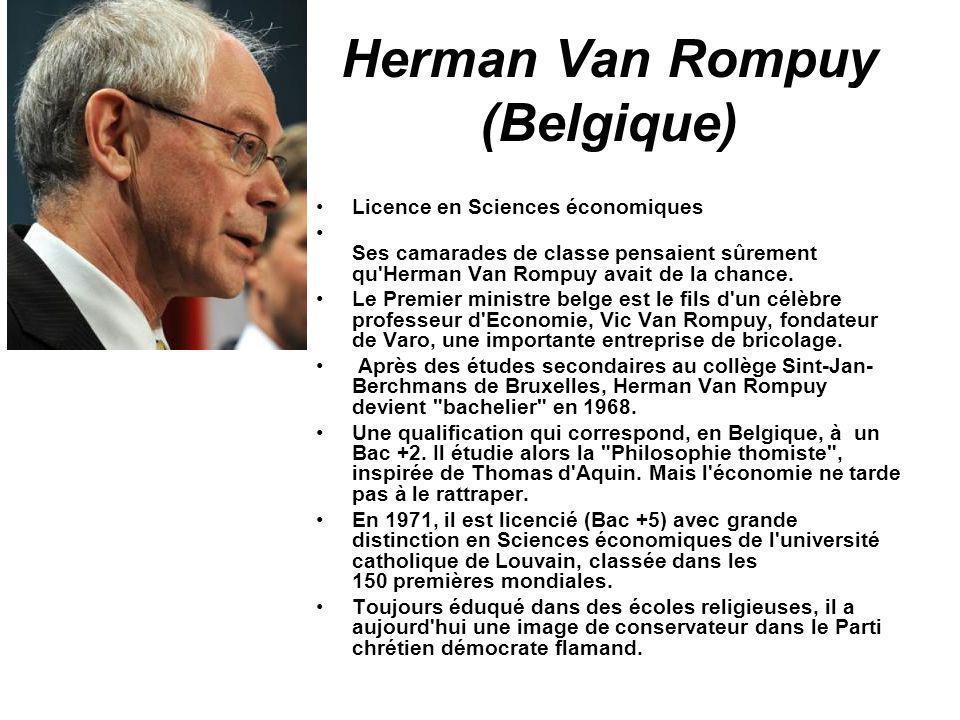 Herman Van Rompuy (Belgique)