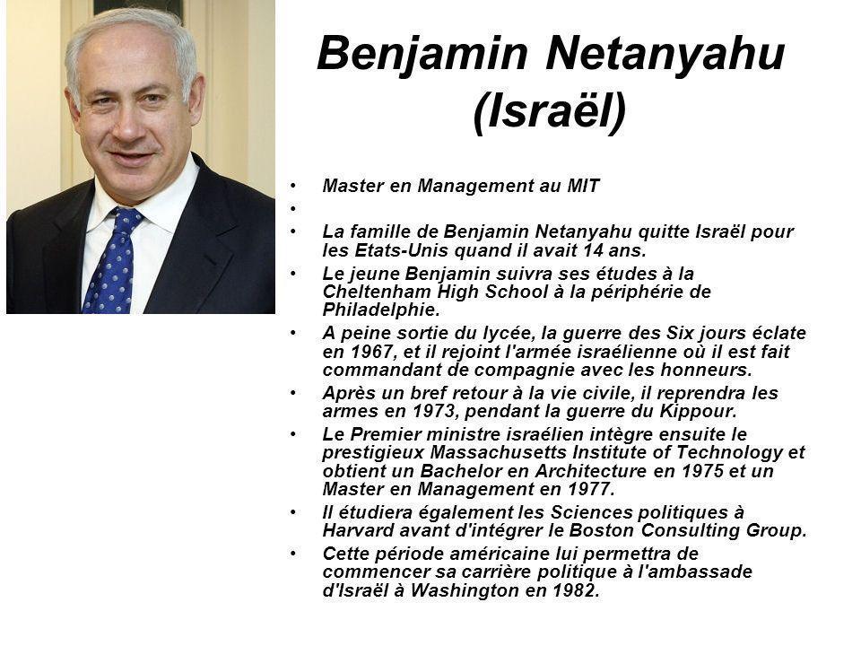 Benjamin Netanyahu (Israël)