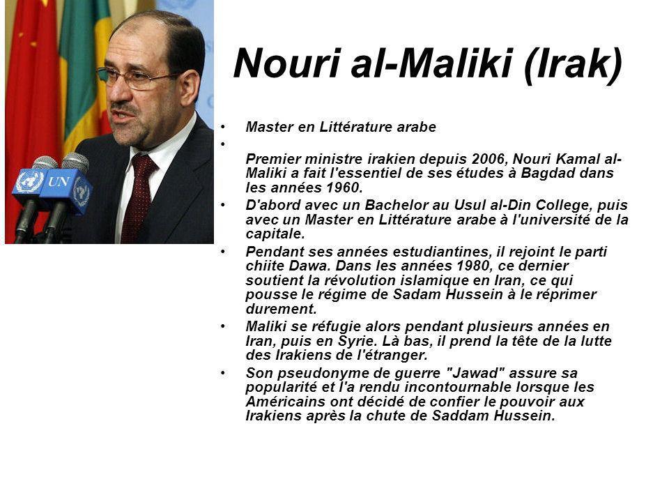 Nouri al-Maliki (Irak)