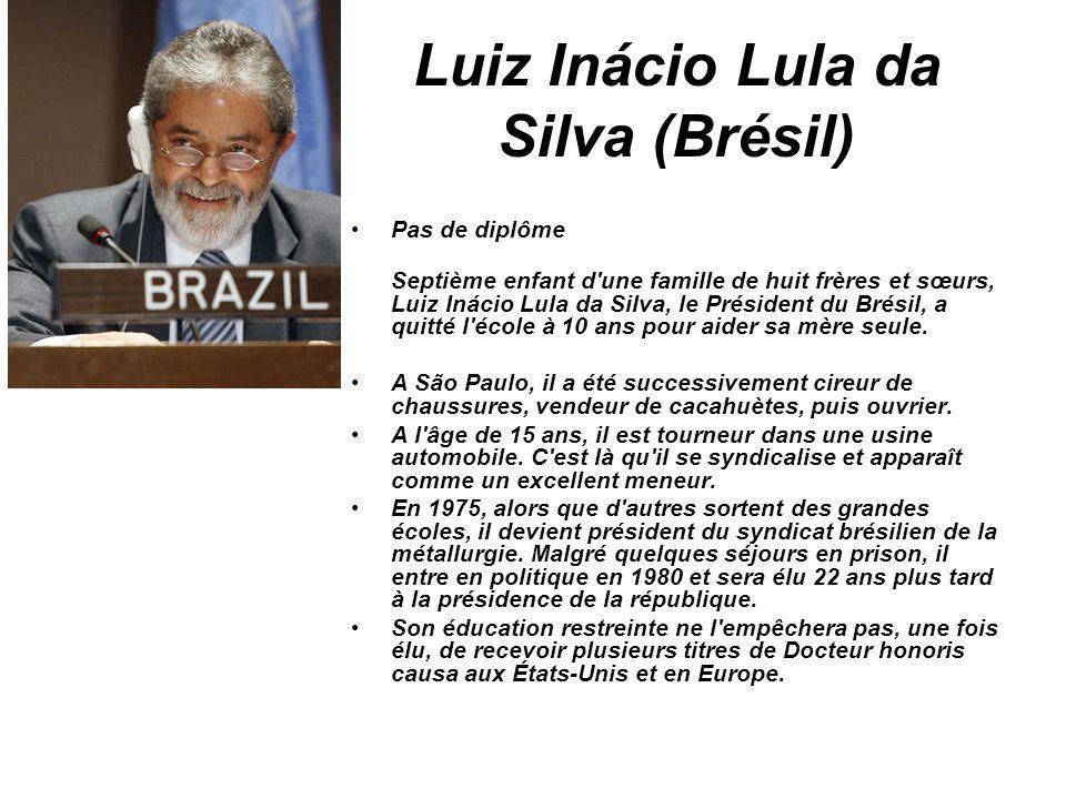Luiz Inácio Lula da Silva (Brésil)