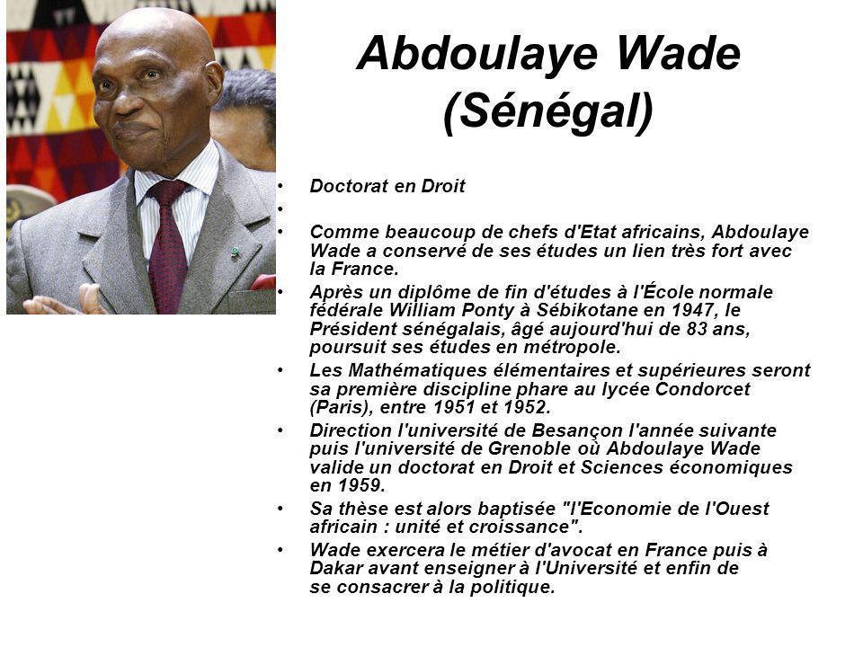 Abdoulaye Wade (Sénégal)