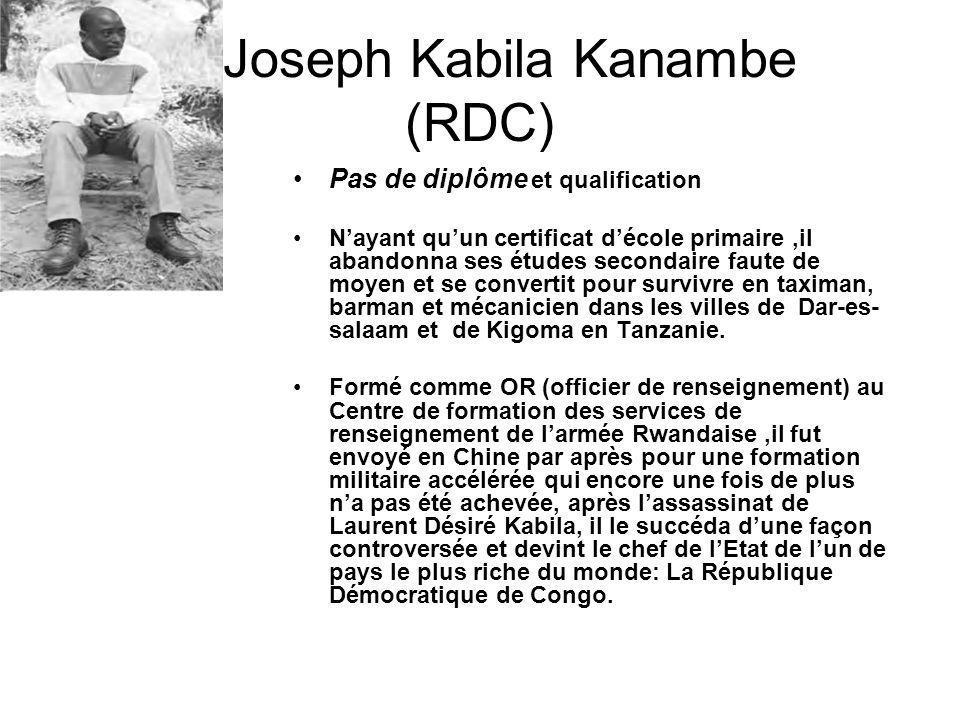 Joseph Kabila Kanambe (RDC)
