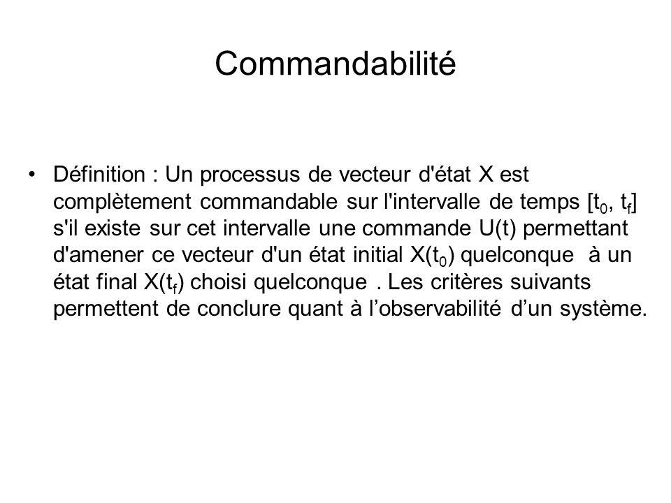 Commandabilité