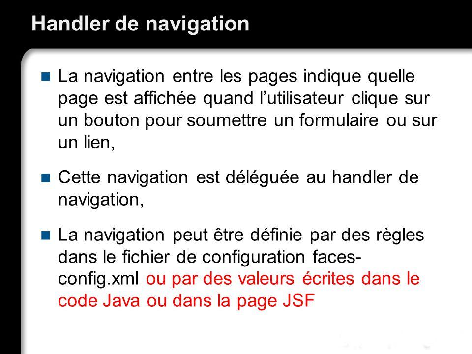 Handler de navigation
