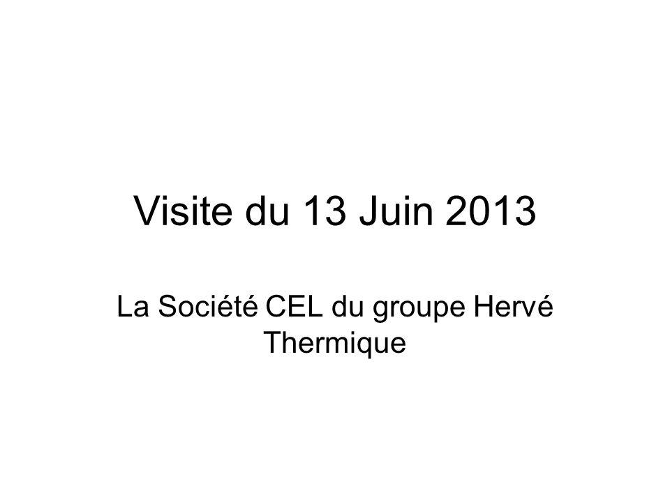 La Société CEL du groupe Hervé Thermique