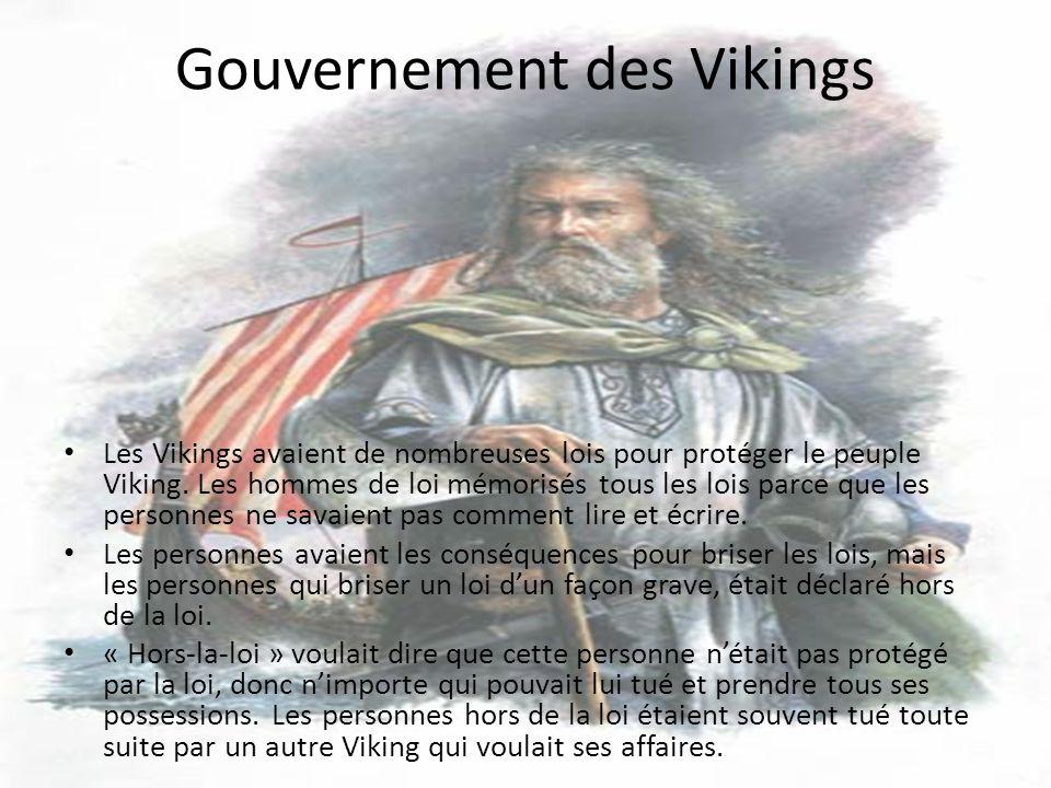 Gouvernement des Vikings