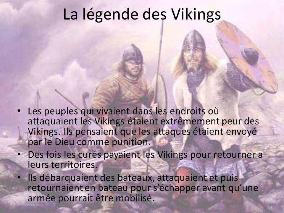 La légende des Vikings
