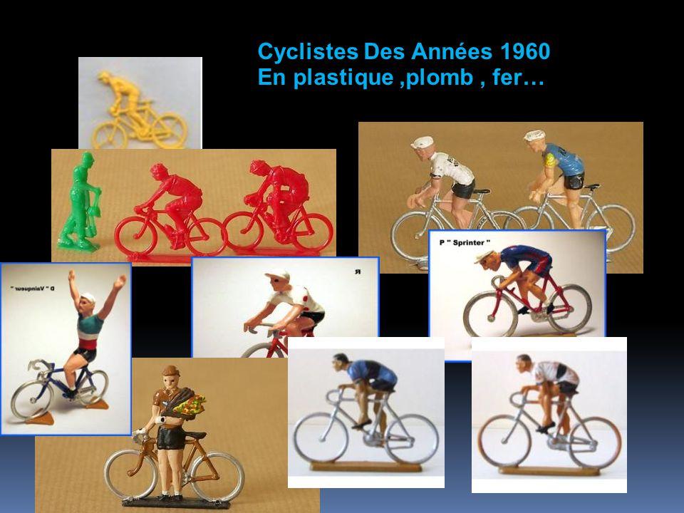 Cyclistes Des Années 1960 En plastique ,plomb , fer…