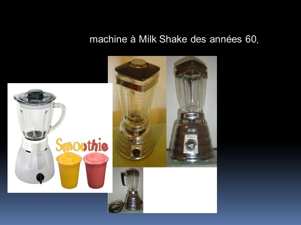 machine à Milk Shake des années 60,