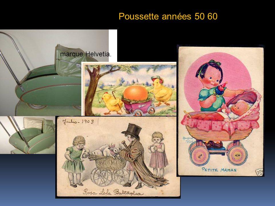 Poussette années 50 60 marque Helvetia.