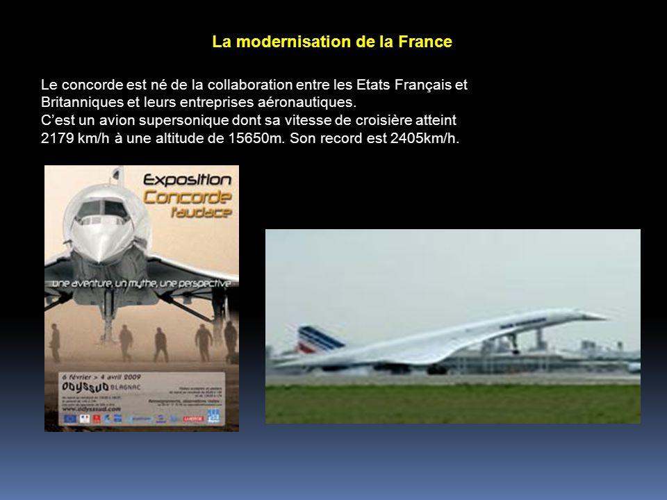 La modernisation de la France