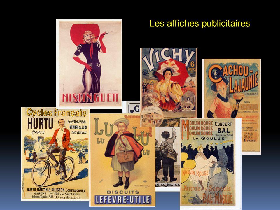 Les affiches publicitaires