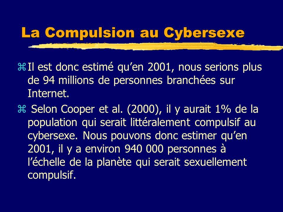 La Compulsion au Cybersexe