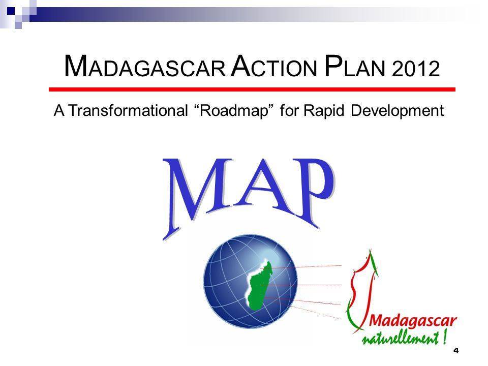 MADAGASCAR ACTION PLAN 2012