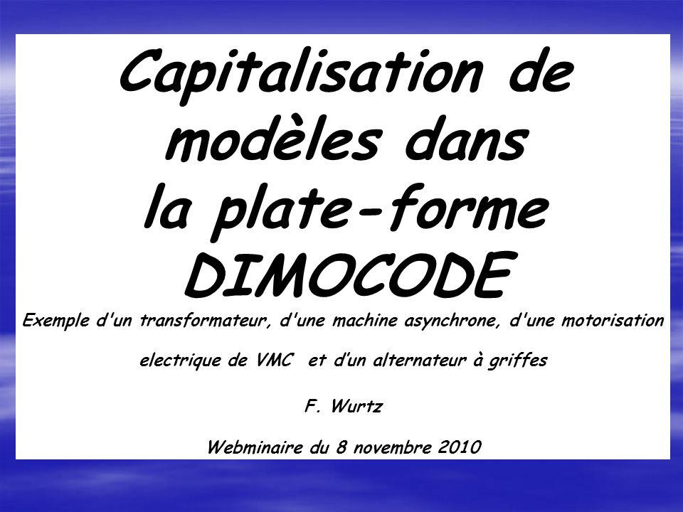 Webminaire du 8 novembre 2010