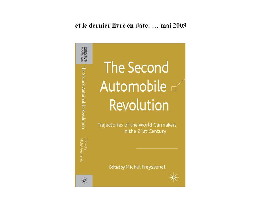 et le dernier livre en date: … mai 2009