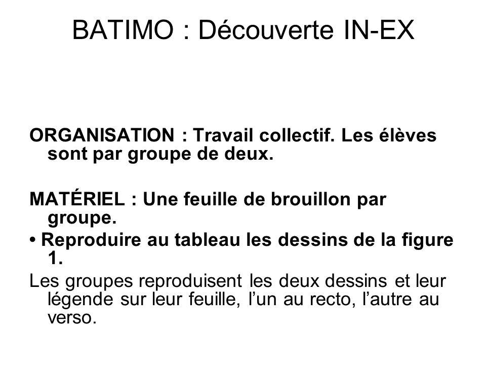 BATIMO : Découverte IN-EX