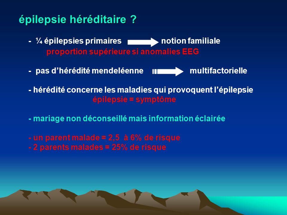 épilepsie héréditaire
