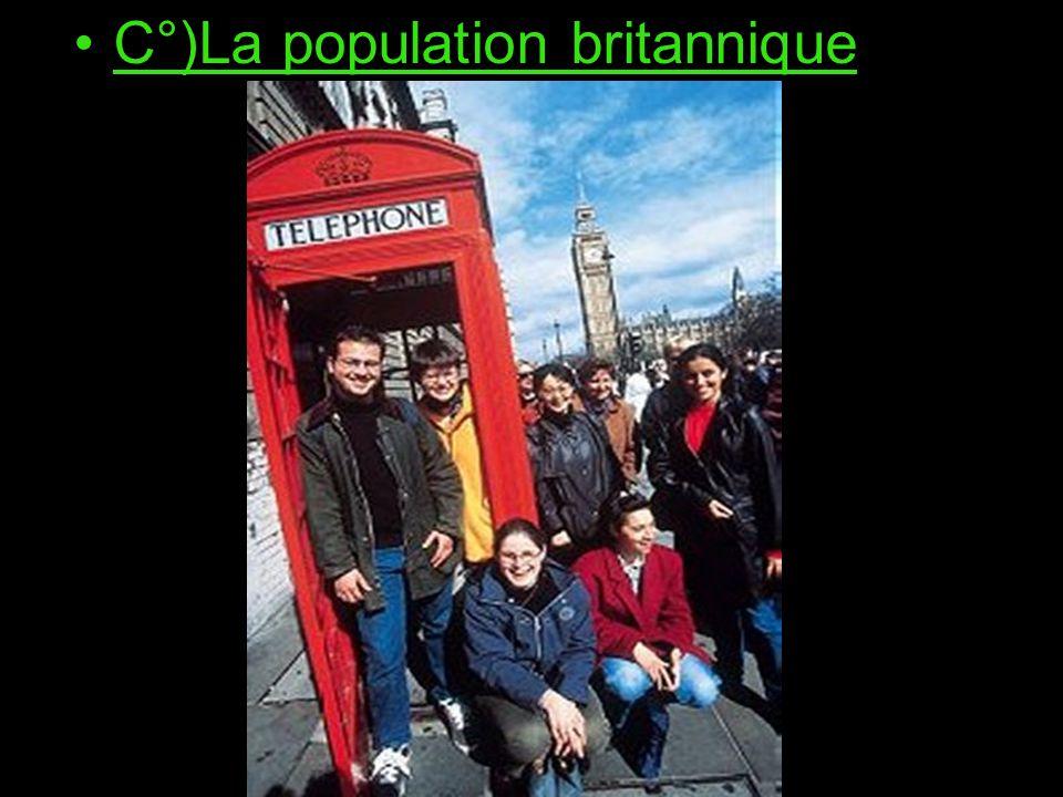 C°)La population britannique