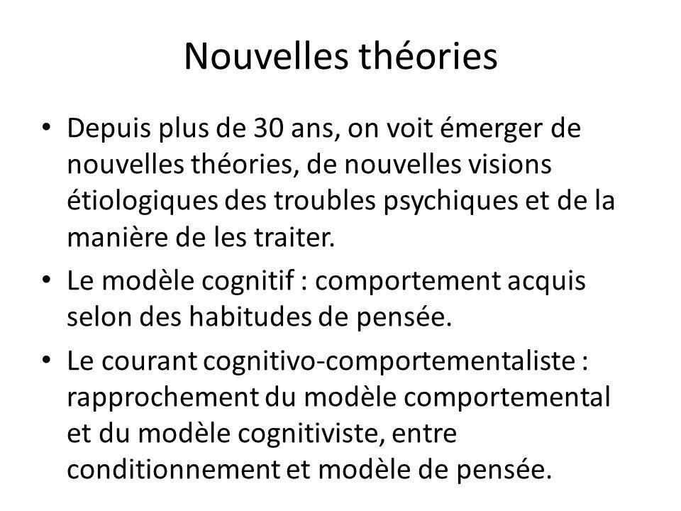 Nouvelles théories