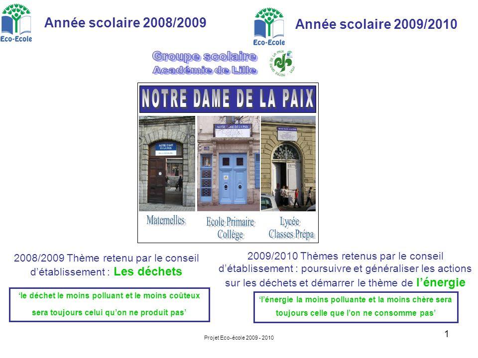 NOTRE DAME DE LA PAIX Maternelles Ecole Primaire Collège Lycée