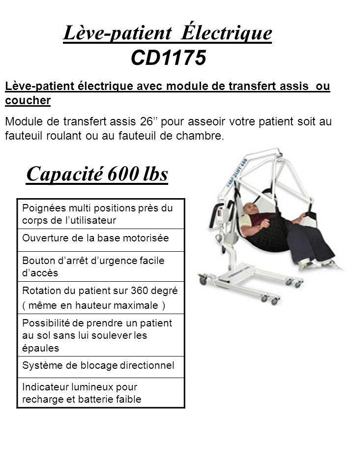 Lève-patient Électrique CD1175