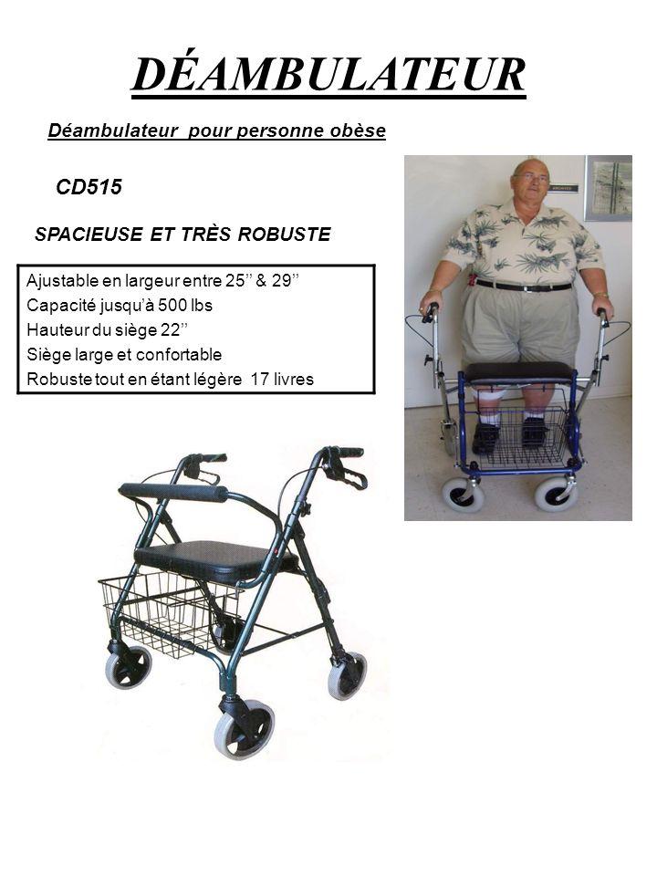 DÉAMBULATEUR CD515 Déambulateur pour personne obèse