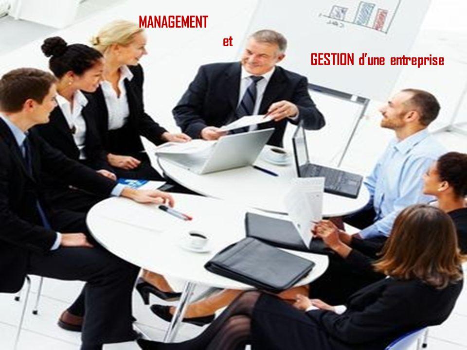 MANAGEMENT et GESTION d'une entreprise
