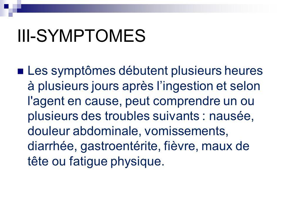 III-SYMPTOMES