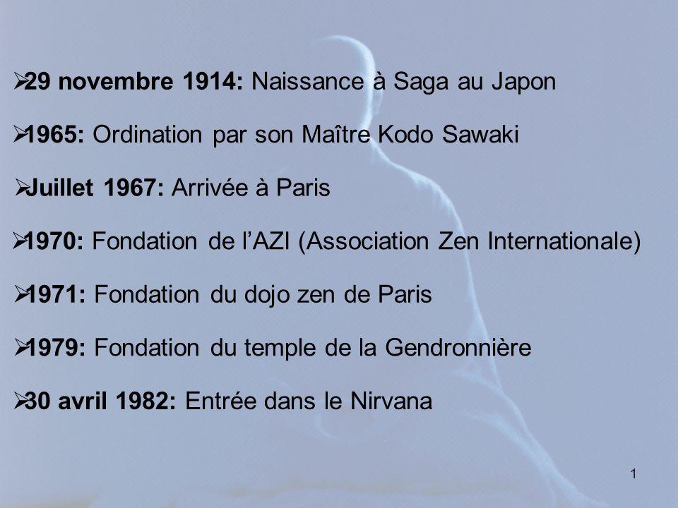 29 novembre 1914: Naissance à Saga au Japon
